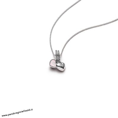 Completa Pandora Best Friends Pendant And Necklace