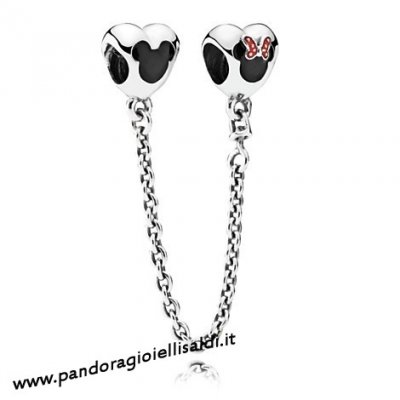 Completa Pandora Catene Di Sicurezza Mickey And Minnie Mouse Sicurezza Catena